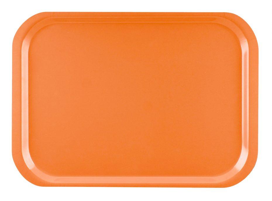 Orange Standard Laminate Tray