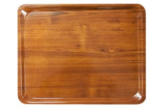 Teak Laminate Self Tray