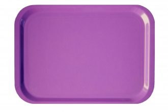 Purple Anti Slip Laminate Tray