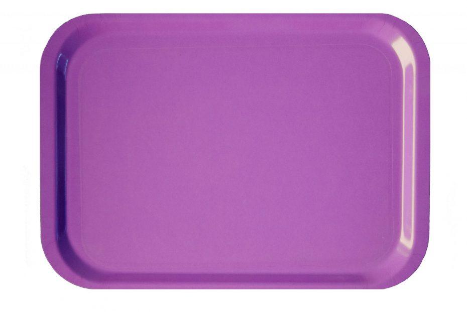 Purple Anti Slip Laminate Tray
