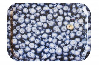 Blueberry Laminate Fast Food Tray