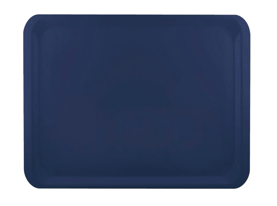 Marine Blue Laminate Casino Tray