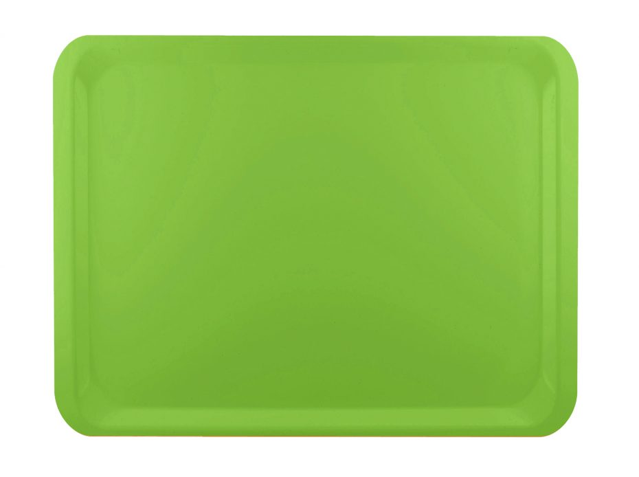 Olive Green Laminate Casino Tray