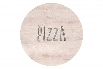 Oak Round Pizza S-Plank