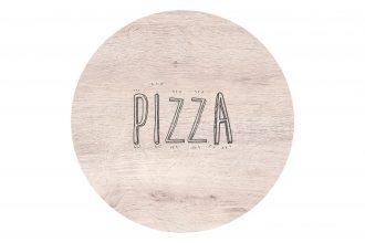 Oak Round Pizza S-Plank