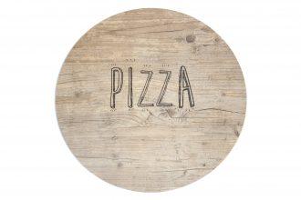 Vintage Round Pizza S-Plank
