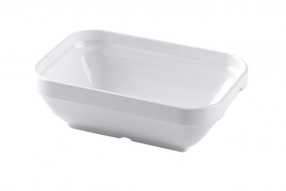 White Rectangular Deep Dish