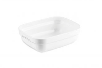 White Rectangular Dish