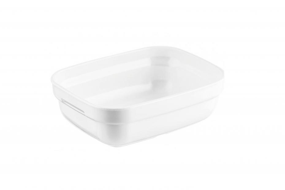 White Rectangular Dish