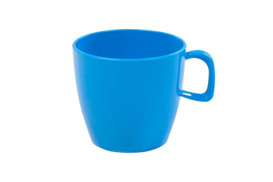 Copolyester Cup with Handle in Pacific Blue