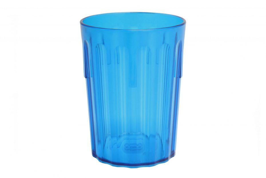 Blue Translucent Copolyester Tumbler