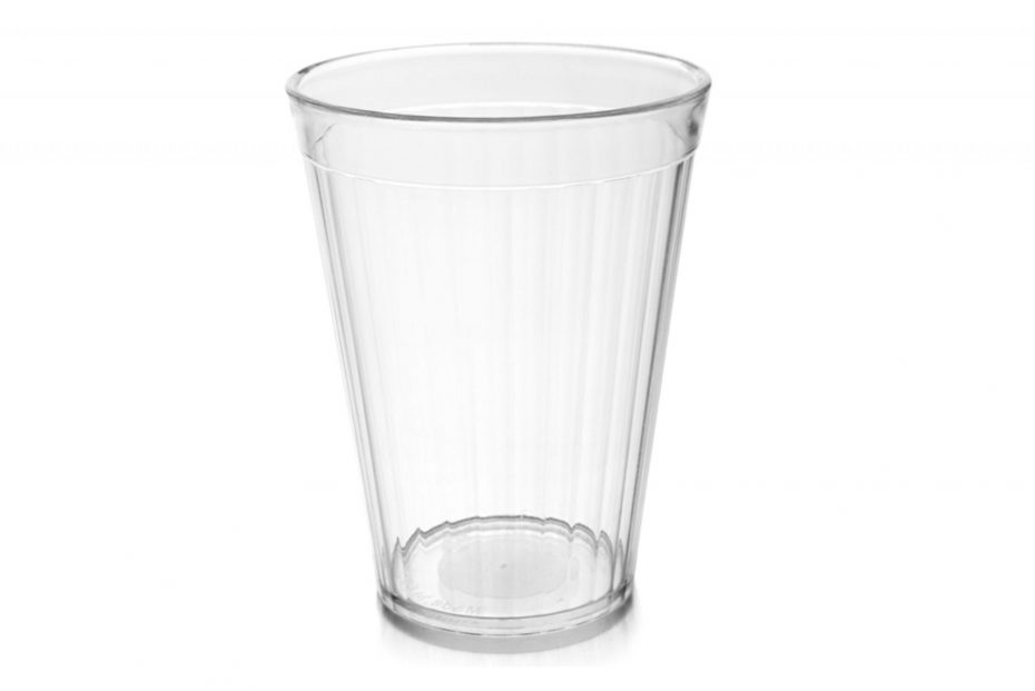 Clear 200ml Copolyester Fluted Tumbler
