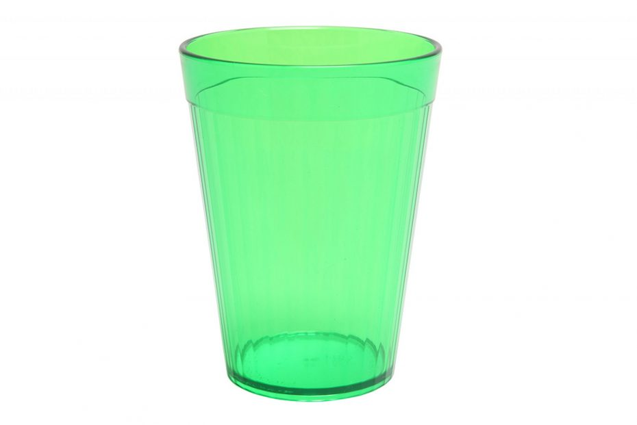 Green 200ml Copolyester Fluted Tumbler