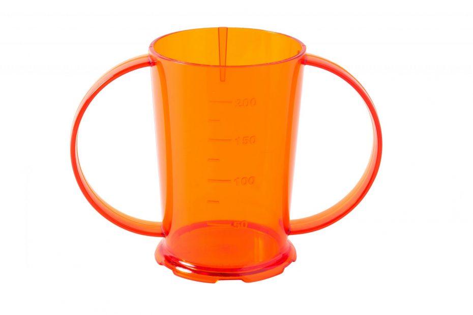 Orange Copolyester Graduated Beaker