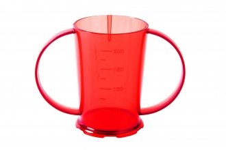 Red Copolyester Graduated Beaker