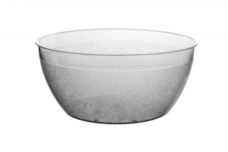 Clear 800ml Frosted Bowl