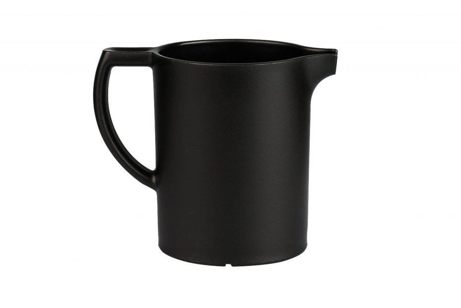 Black Individual Milk & Cream Jug