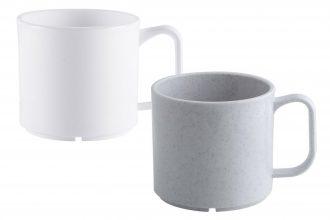 White & Granite Mug