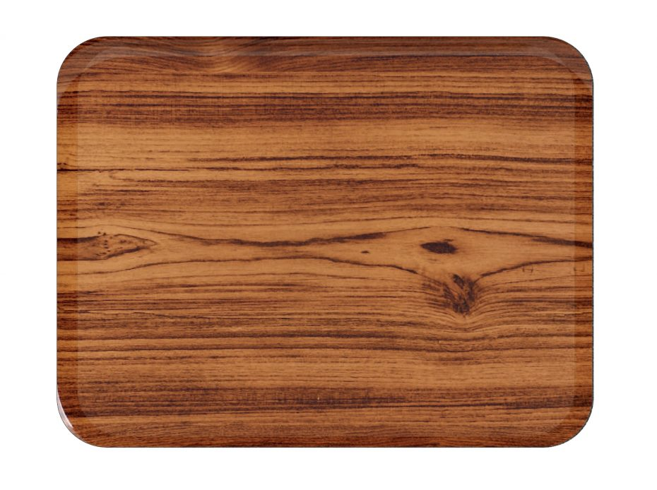 Teak Laminate Casino Tray