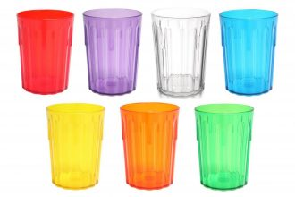 Translucent Copolyester Tumblers