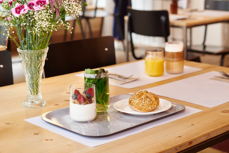 Breakfast on a Fast Food Tray