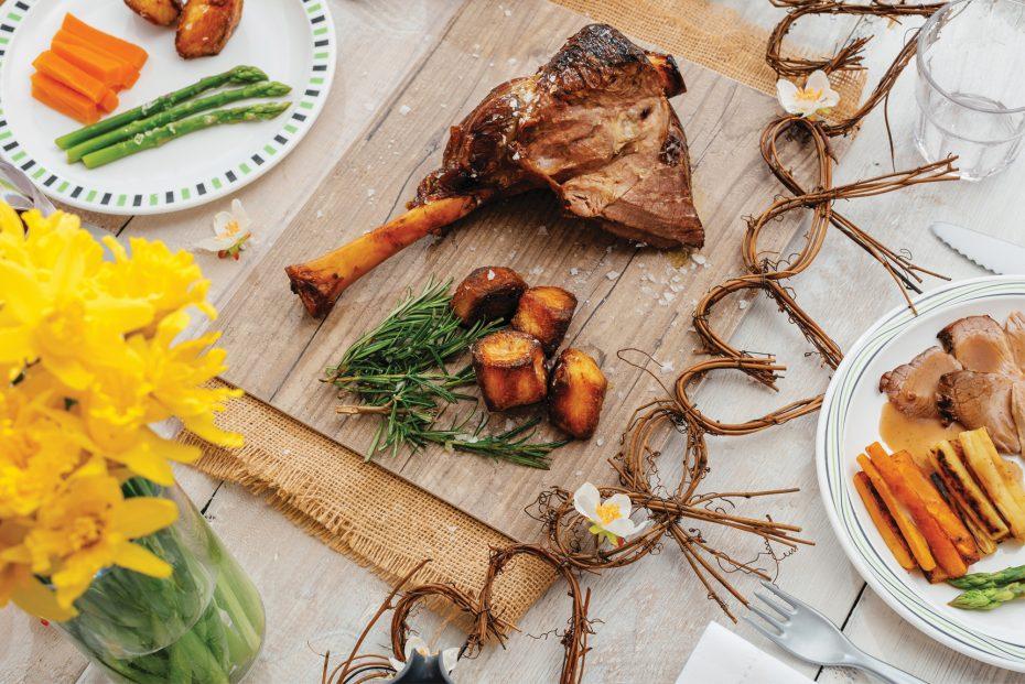 Roast Turkey on a Vintage S-Plank