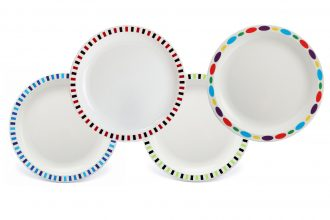 Copolyester Patterned Duo Plates