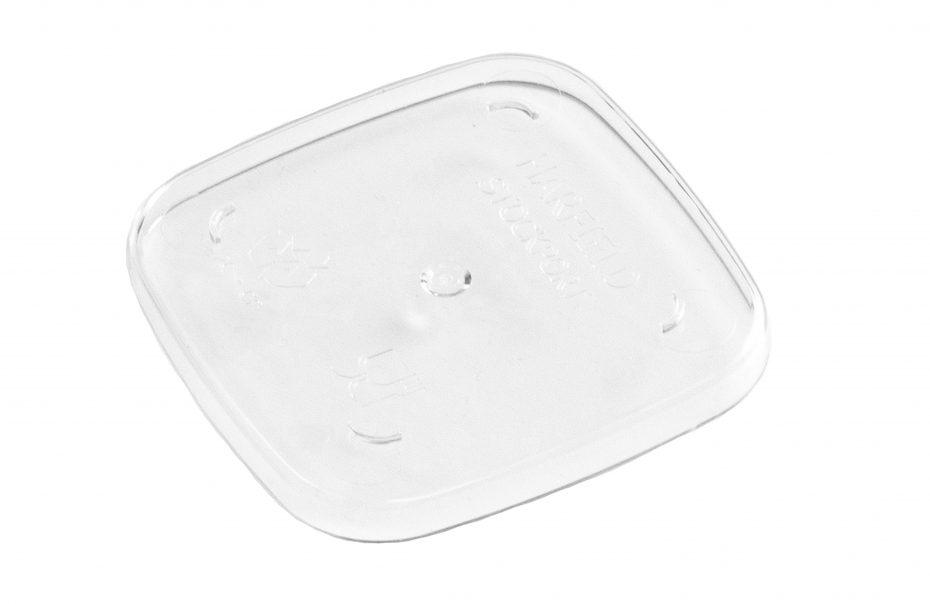Clear Copolyester Dessert Pot Lid