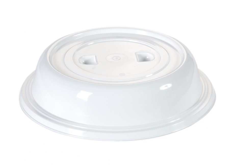 Large White Plate Cover