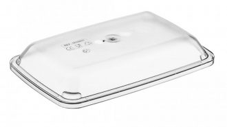 Clear Rectangular Lid