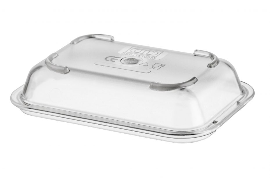 Clear Lid for Deep Dish