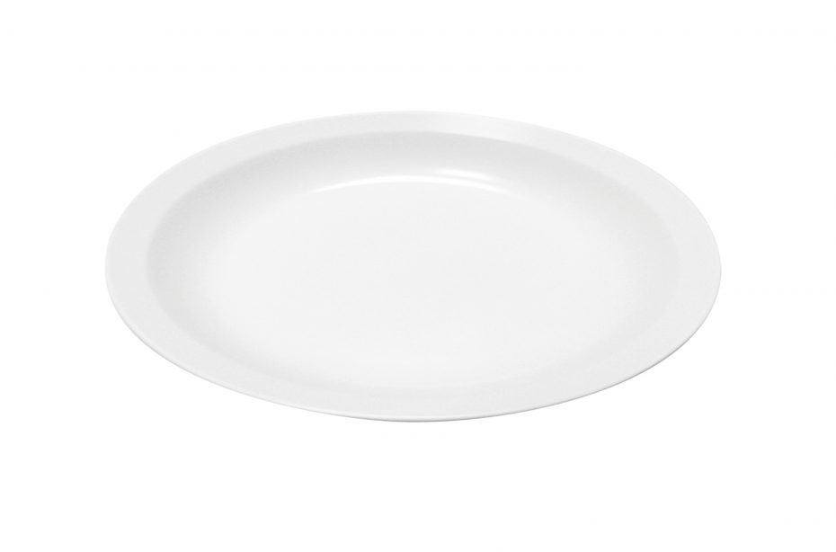 White Small Dinner Plate