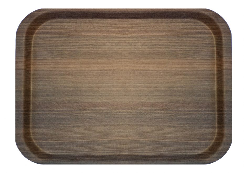 Warm Wood Puro Fast Food Tray