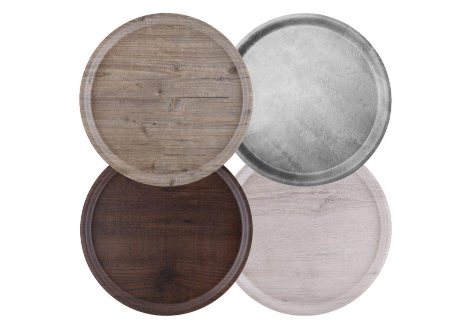 Puro Medium Round Trays