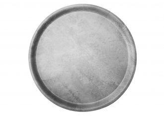 Concrete Puro Medium Round Tray