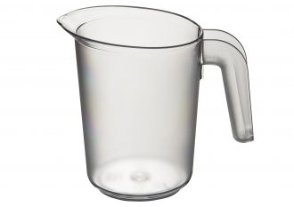 Clear Frosted Jug