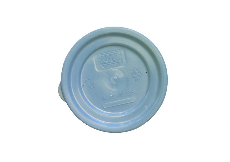 Blue Lid for 325ml White Bowl