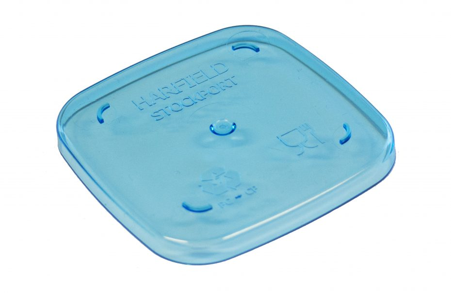 Blue Copolyester Dessert Pot Lid