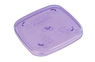 Purple Copolyester Dessert Pot Lid