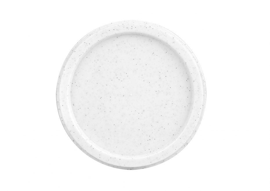 White Speckle Bowl Lid