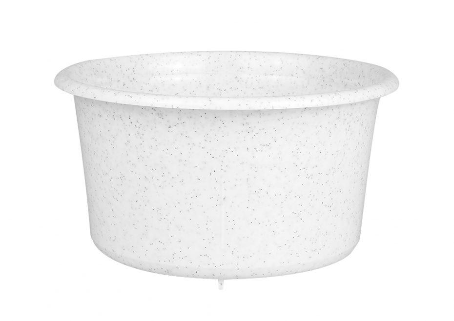 White Speckle Soup Bowl