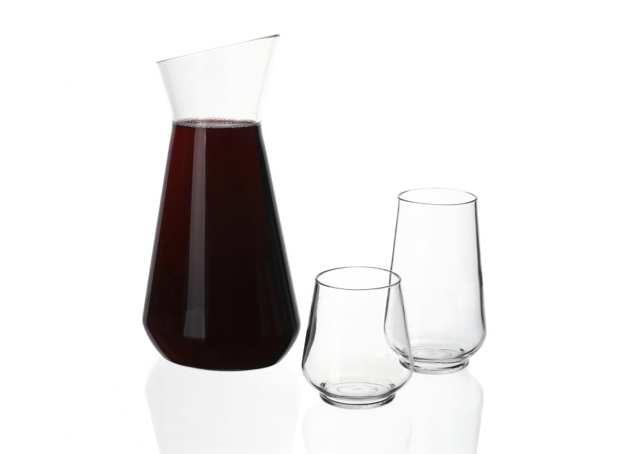 Lux Pitcher and matching tumblers