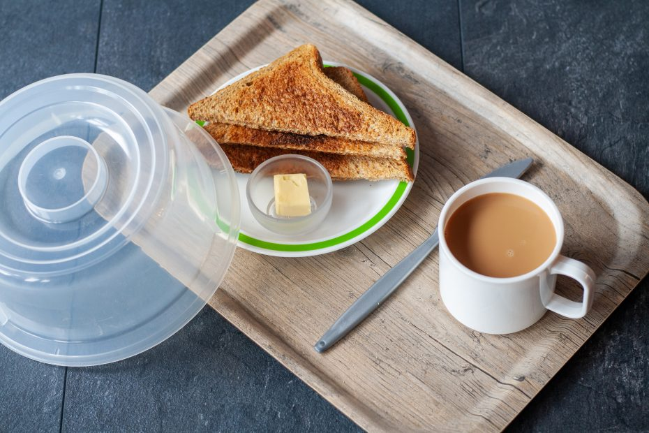 Tea and Toast on Puro Tray