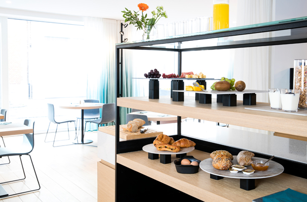 Breakfast Display on S-Planks and S-Cubes