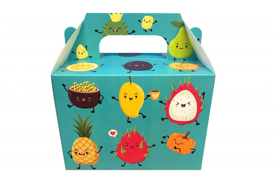 Friendly Fruit Kids Lunch Box