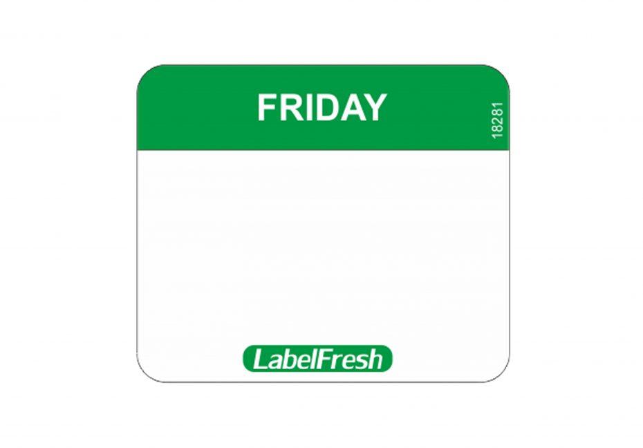 Daymark Easy Labels - Friday
