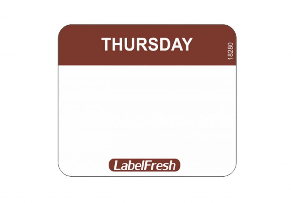 Daymark Easy Labels - Thursday