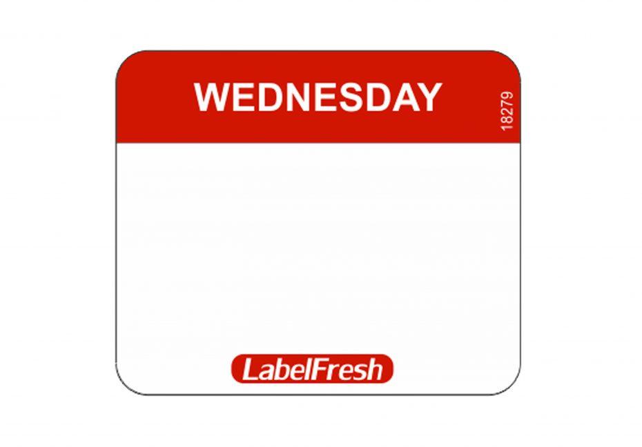Daymark Easy Labels - Wednesday