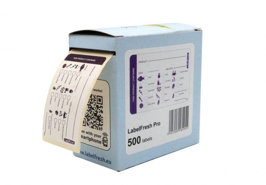 Allergen Labels Packshot