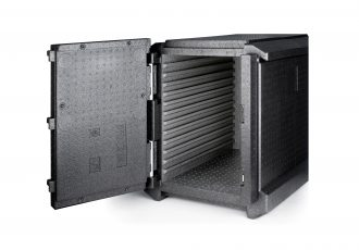 Front Loading Insulated Food Box